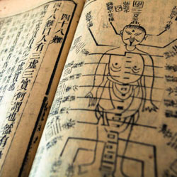Ancient Acupuncture Book