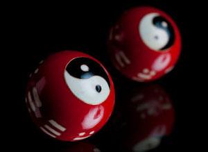 Yin Yang Balls